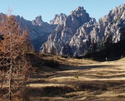 Rifugio Pordenone, Val Cimoliana