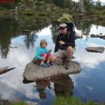 Camminare in montagna con i bambini è bellissimo