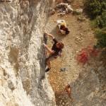 Palestre di roccia in Italia tra passato e futuro