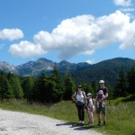 In Valmenera per una facile escursione con la famiglia