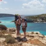A Cala Pulcino, una cengia tra il cielo e il mare di Lampedusa