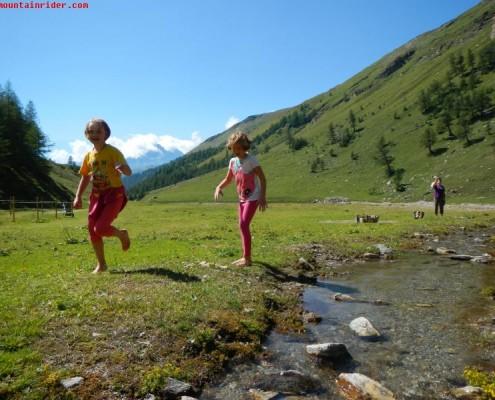passeggiate per bambini