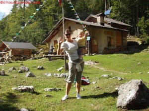 Val Zoldana, Rifugio sora al Sass