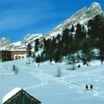 Rifugio Fanes, scialpinismo nelle Dolomiti