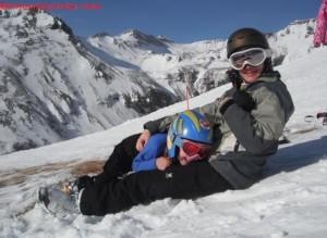 sciare con i bambini piccoli