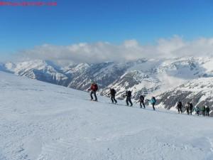 iniziare a fare sci alpinismo