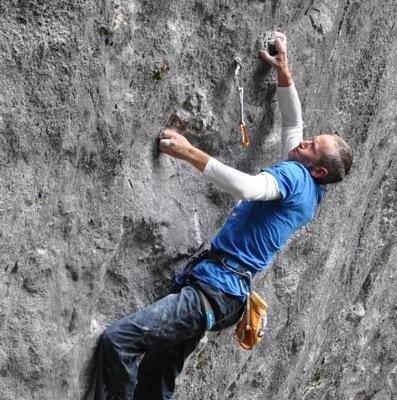tracciare le vie di arrampicata