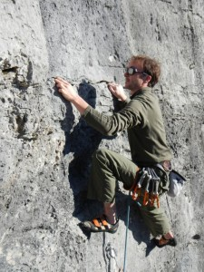 arrampicata in placca