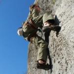 Stili di arrampicata: arrampicata in placca