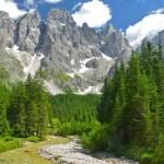 Escursioni con il passeggino nelle Dolomiti