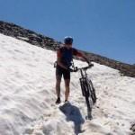 La traversata delle Alpi in MTB di Stefania