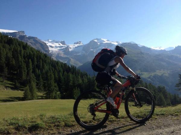 traversata delle Alpi in MTB