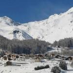 Natale in montagna lontano dalla folla