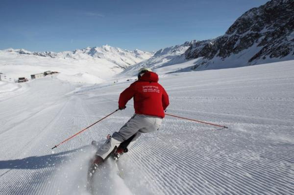sciare in alta stagione