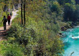 river trekking fiume isonzo