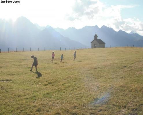 montagna per bambini