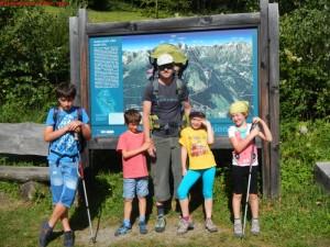 in montagna con i bambini