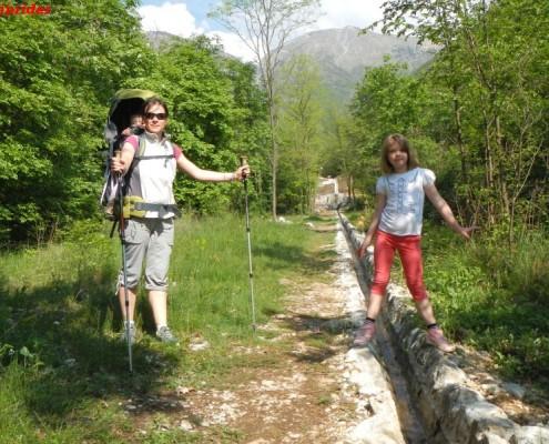 escursione per famiglie