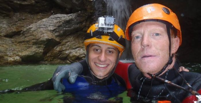 fare canyoning